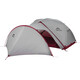 MSR Gear Shed V2 Tent Accessories grey/red